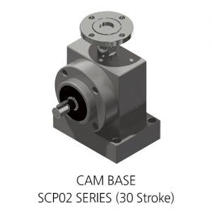 [SCP02 SERIES (30 Stroke)] CAM BASE