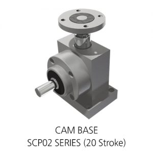 [SCP02 SERIES (20 Stroke)] CAM BASE